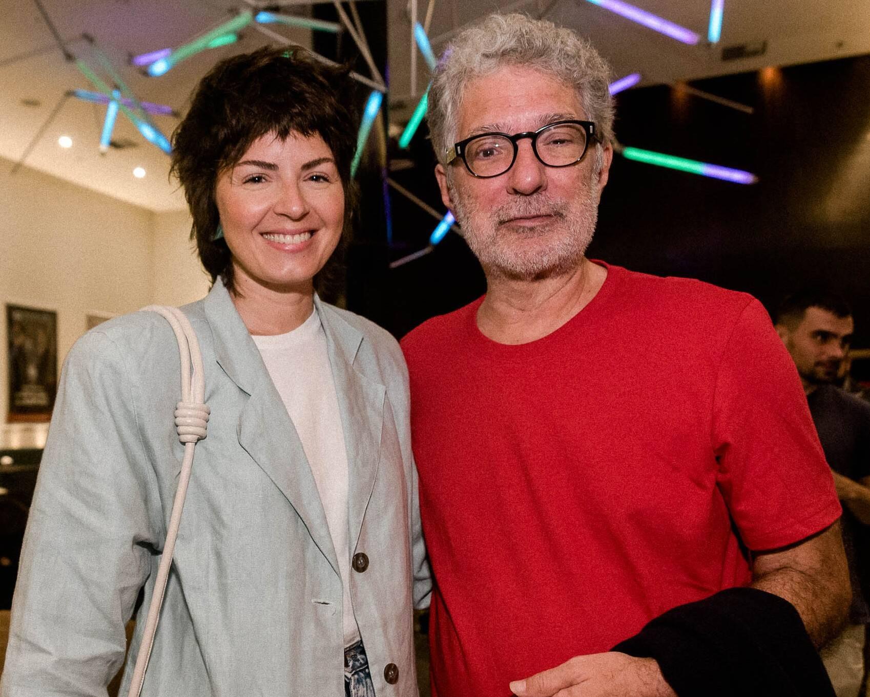 Marina Franco e Hamilton Vaz Pereira /Foto: Renato Wrobel