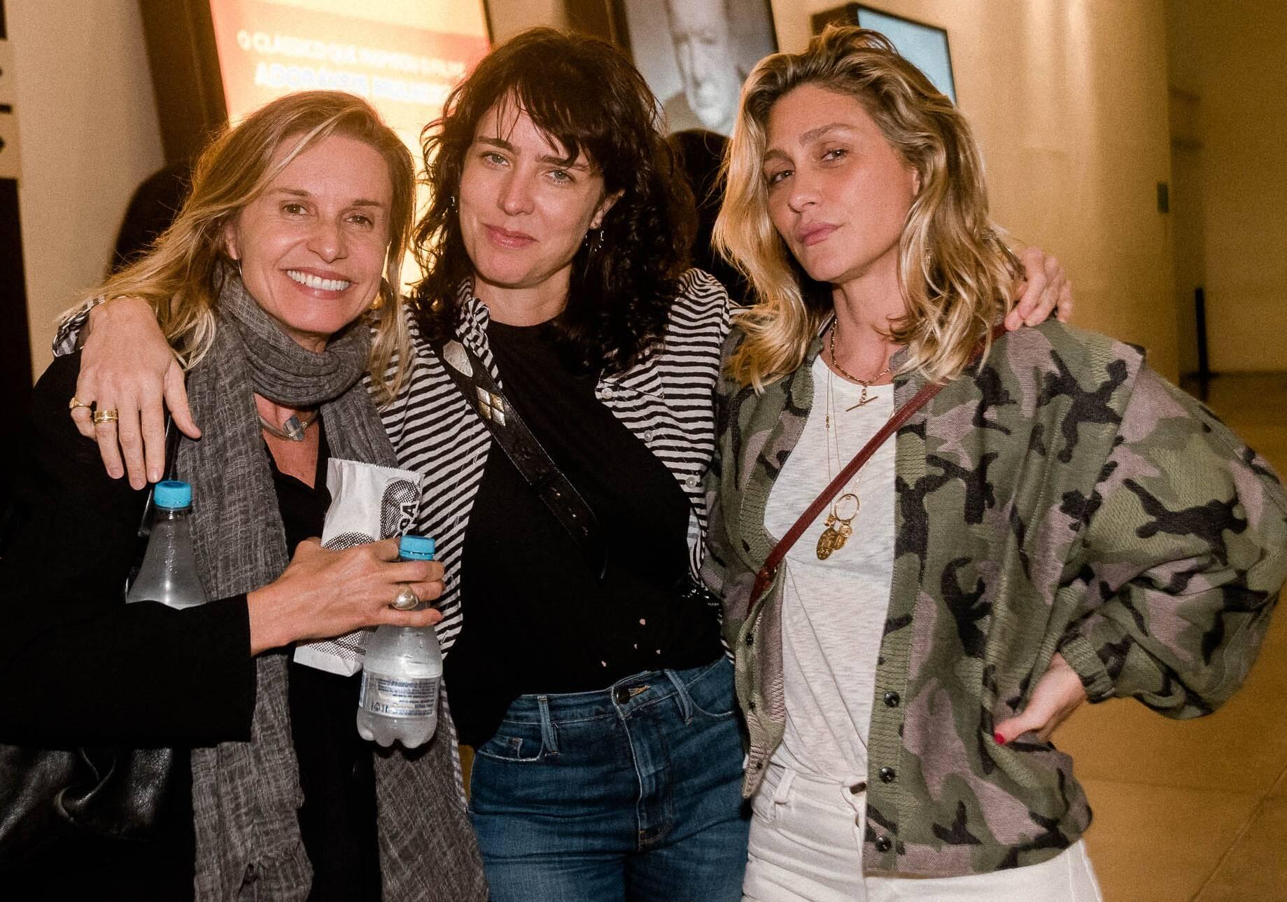 Paula Burlamaqui, Carolina Jabor e Amora Mautner  /Foto: Renato Wrobel