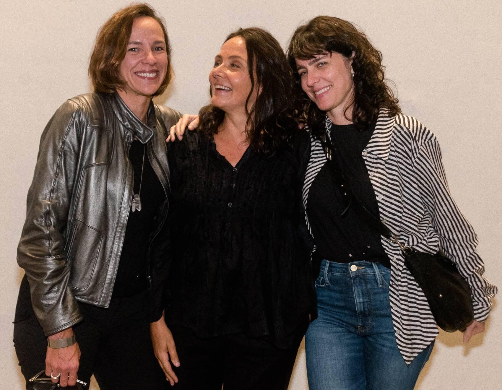 Renata Brandão, Mini Kerti e Carolina Jabor /Foto: Renato Wrobel