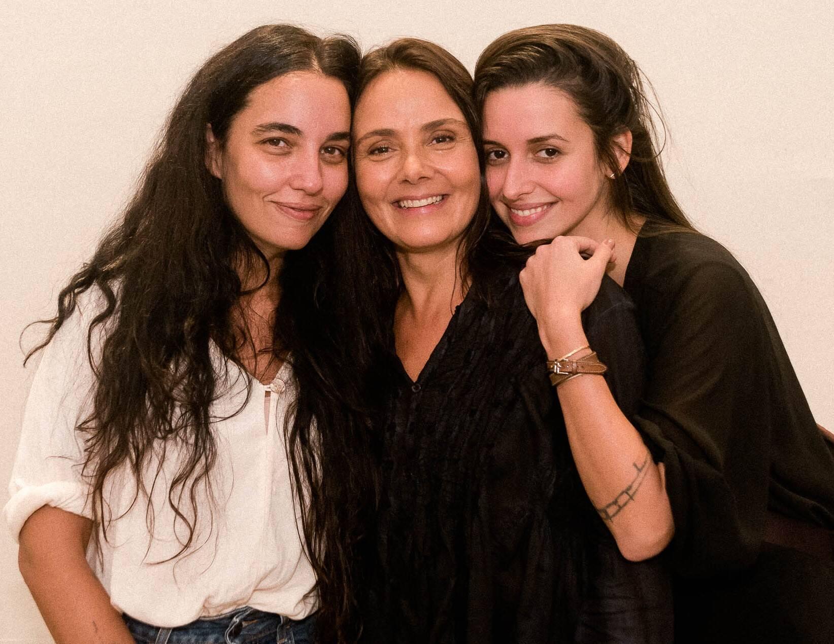 Rita Wainer, Mini Kerti e Ana de Souza Dantas /Foto: Renato Wrobel