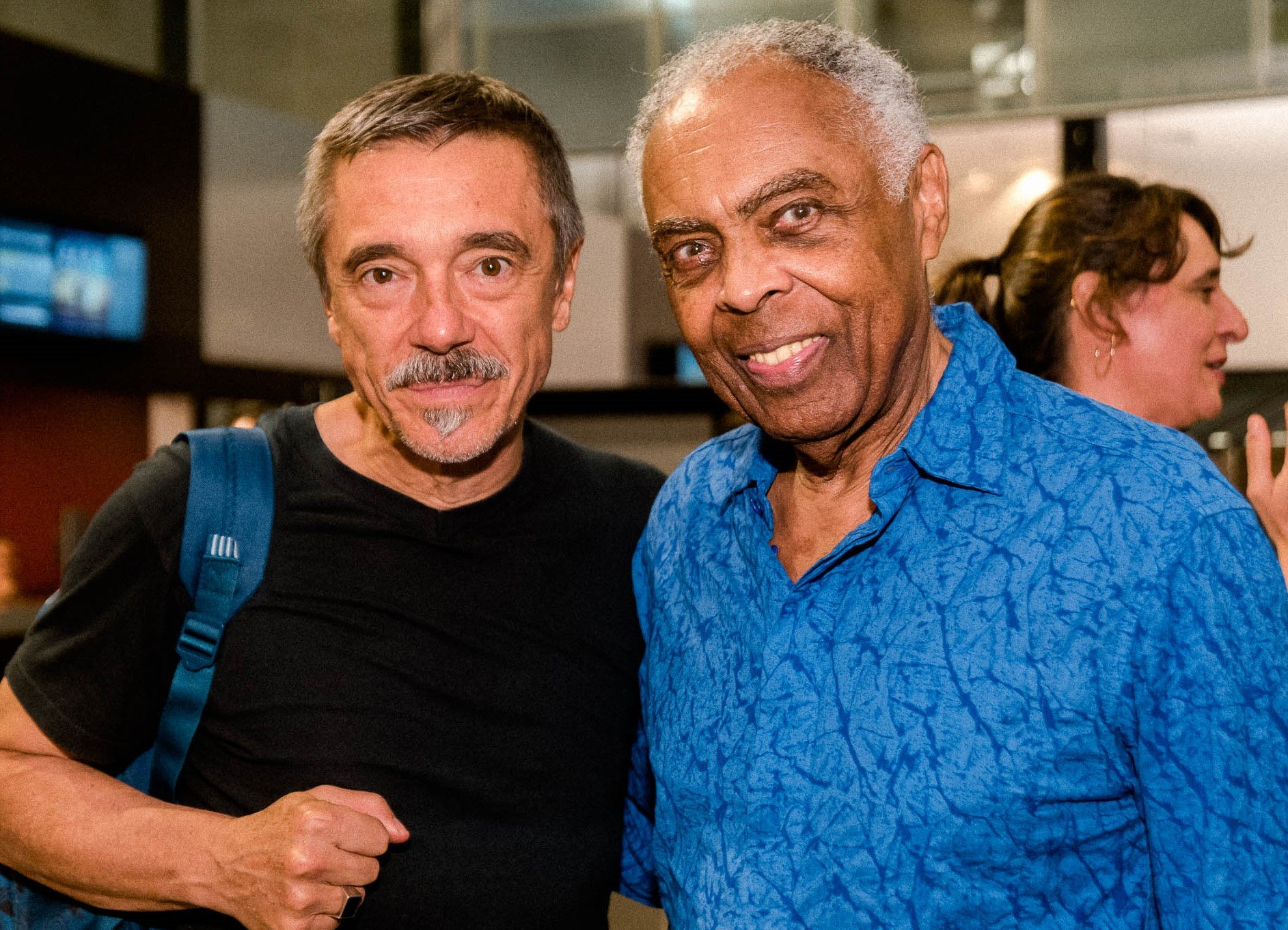 Charles Gavin e Gilberto Gil /Foto: Renato Wrobel