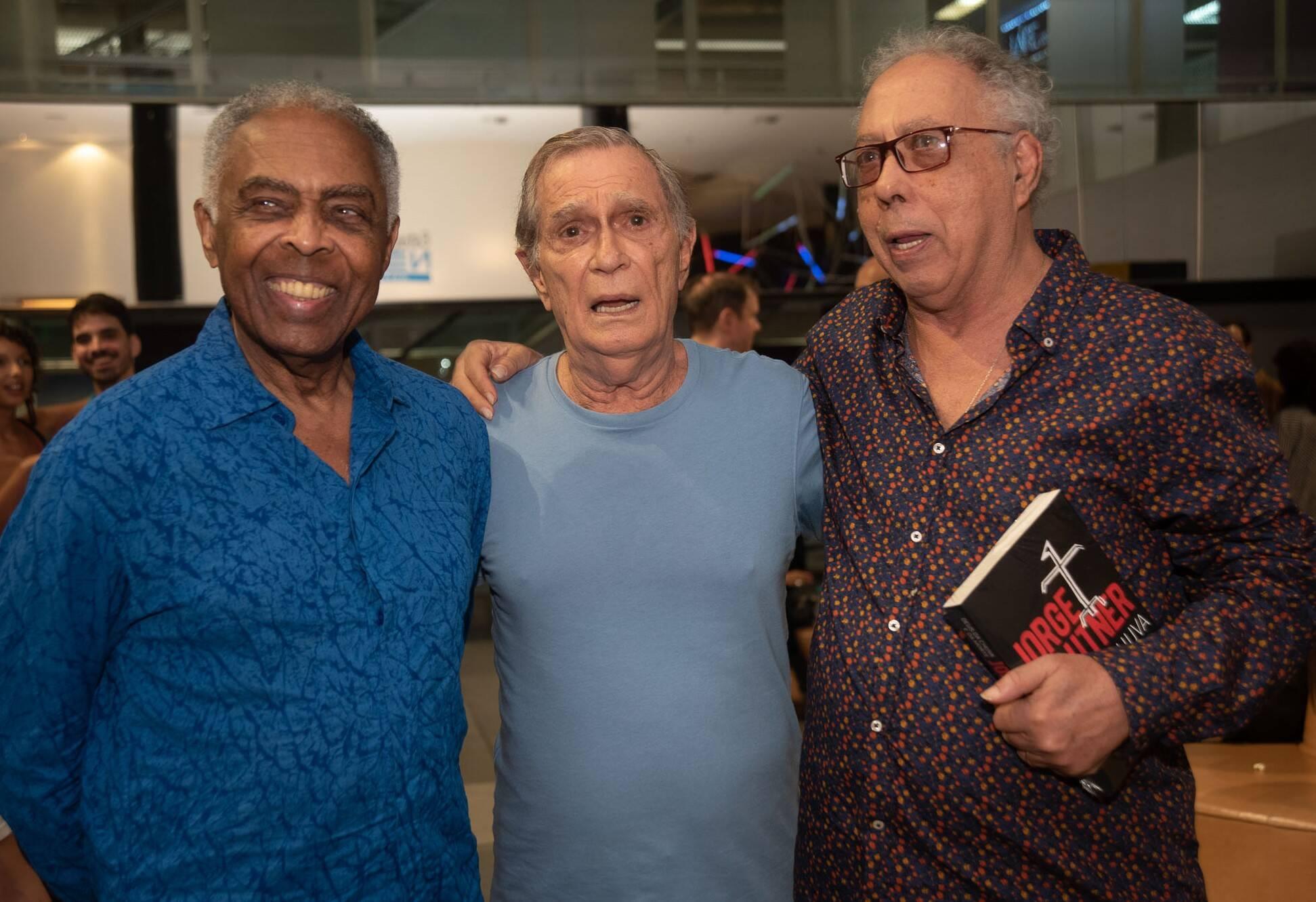 Gilberto Gil, Jorge Mautner e Jards Macalé /Foto: Renato Wrobel