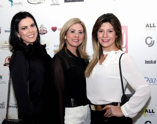 Josiane Machado, Camila Gusmão e Sheila Senra