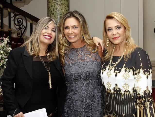 Georgiana Guinle, Márcia Veríssimo e Thelma Guimarães