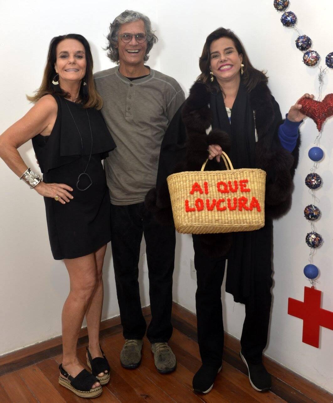 Patricia Secco , Ricardo Hachiya e Narcisa Tamborindeguy / Foto: Cristina Granato