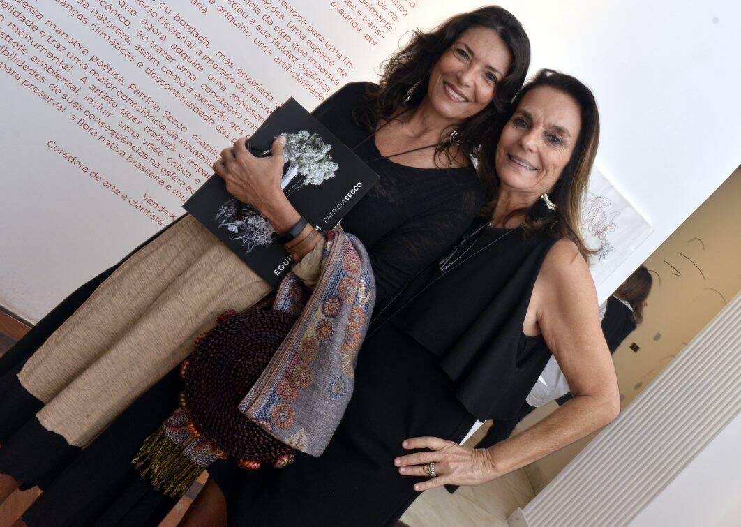 Simone Roriz e  Patricia Secco  / Foto: Cristina Granato