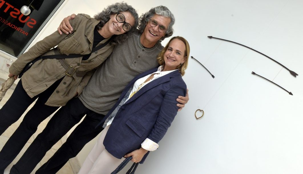 Marcia Braga ,  Ricardo Hachiya e Tita Chami  / Foto: Cristina Granato
