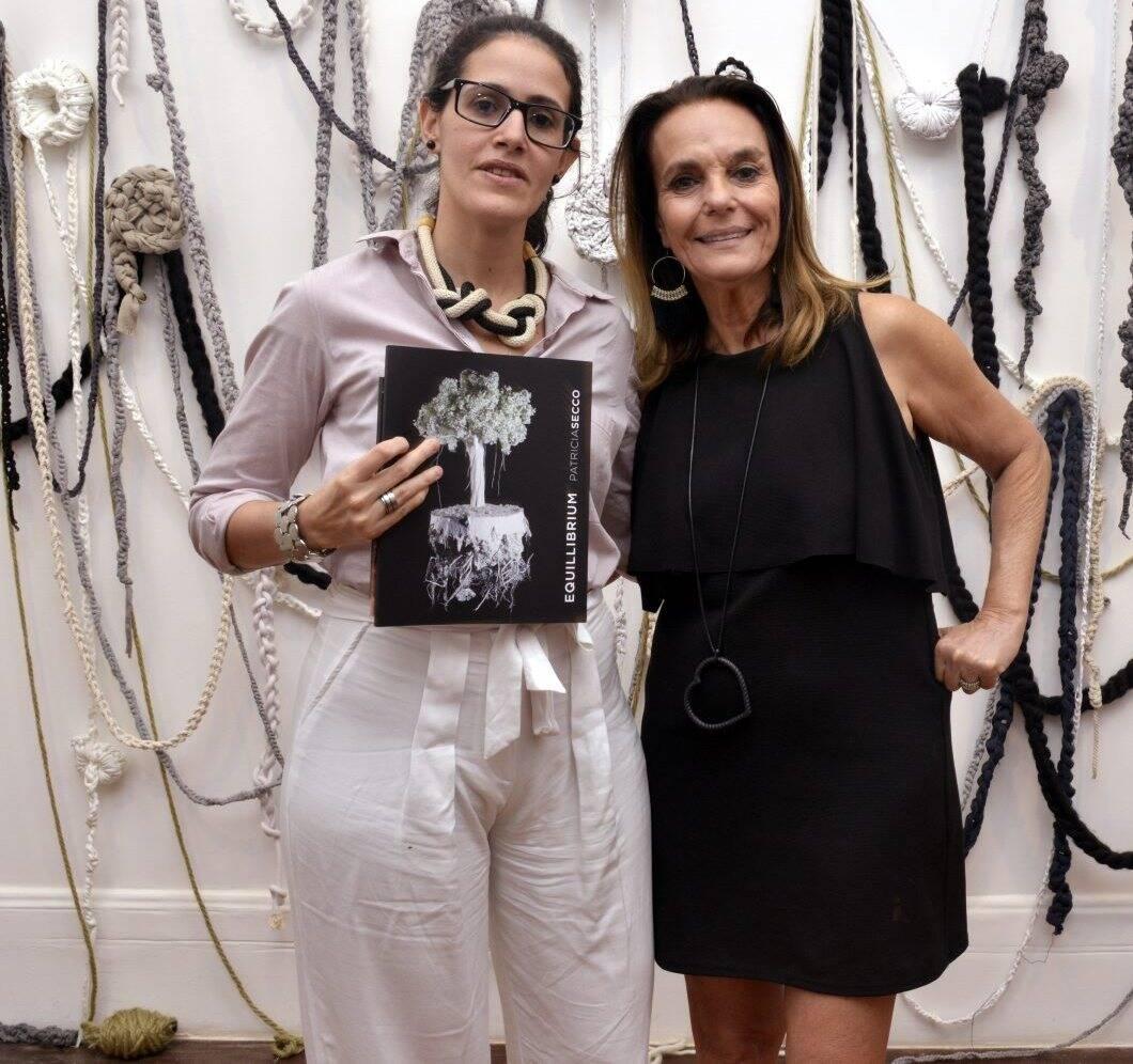 Patricia Toscano  e Patricia Secco  / Foto: Cristina Granato