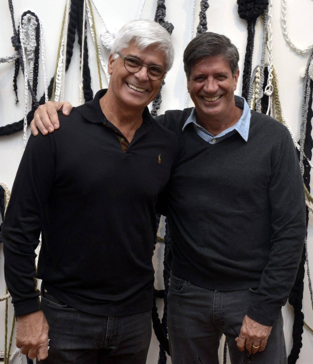 Nelson Leal e Sergio Serzedelo Machado