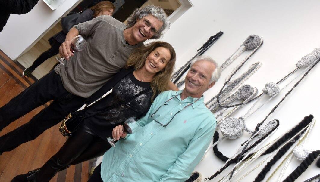 Ricardo Hachiya , Thereza Formiga e Sergio Margulis / Foto: Cristina Granato