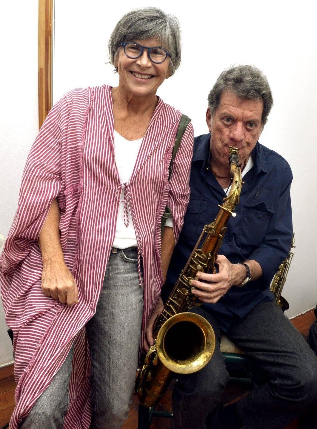 Lulu Fenandes e Léo Gandelman / Foto: Cristina Granato