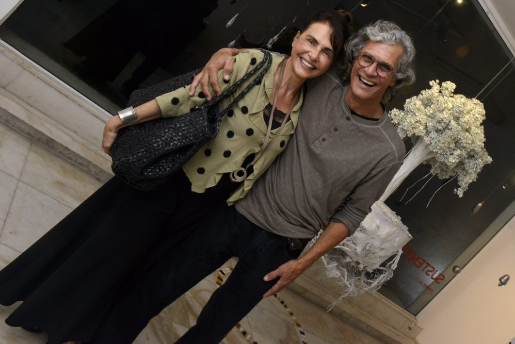 Celina Guinle Gentil e Ricardo Hachiya  / Foto: Cristina Granato