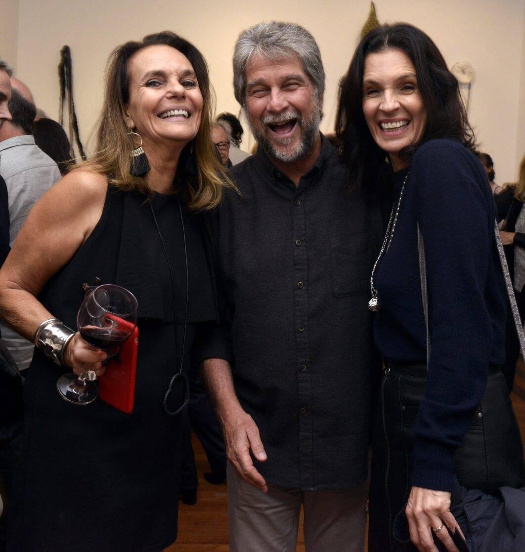 Patricia Secco , João Orleans e Bragança  e Anna Caldas / Foto: Cristina Granato