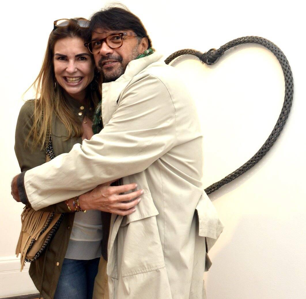 Christiane Manhãs   e  Napoleão Lacerda / Foto: Cristina Granato