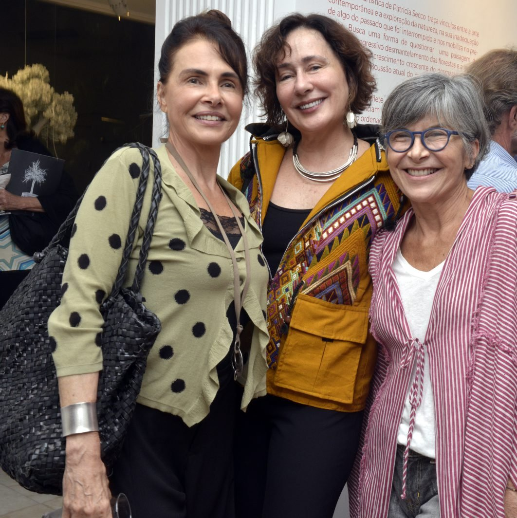 Celina Guinle Gentil , Heloísa Gentil e Lulu Fernandes / Foto: Cristina Granato