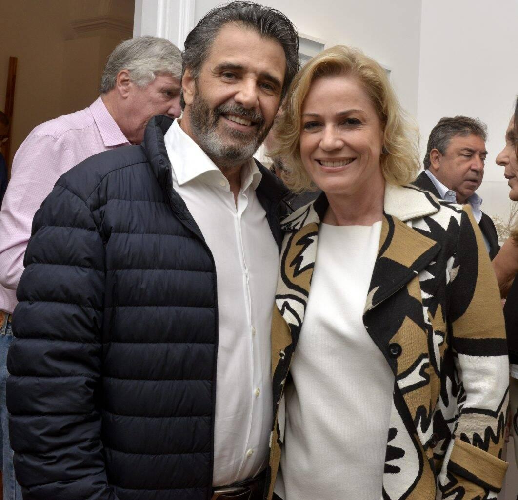 Claudio Pereira e Marcia Peltier / Foto: Cristina Granato