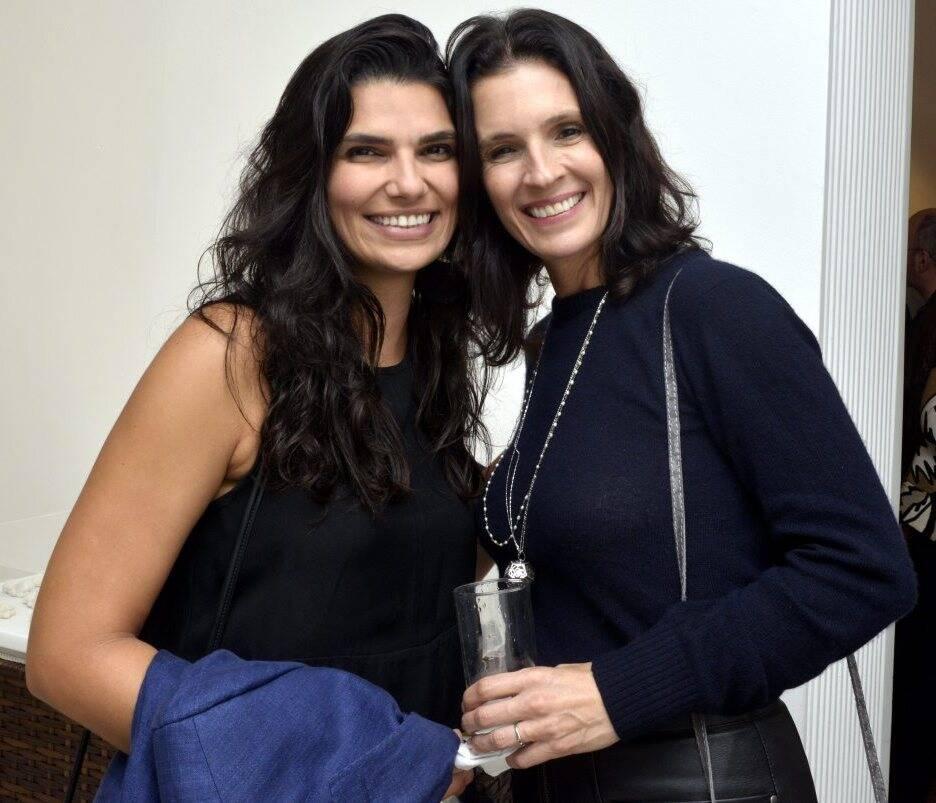 Melissa Correa e Anna Caldas  / Foto: Cristina Granato