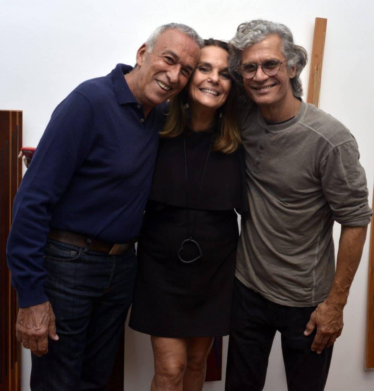 Luiz de Freitas , Patricia Secco e  Ricardo Hachiya  / Foto: Cristina Granato