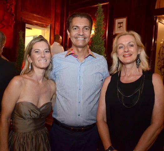 Dara Champman, Gilson Araújo e Eva Anzaloni