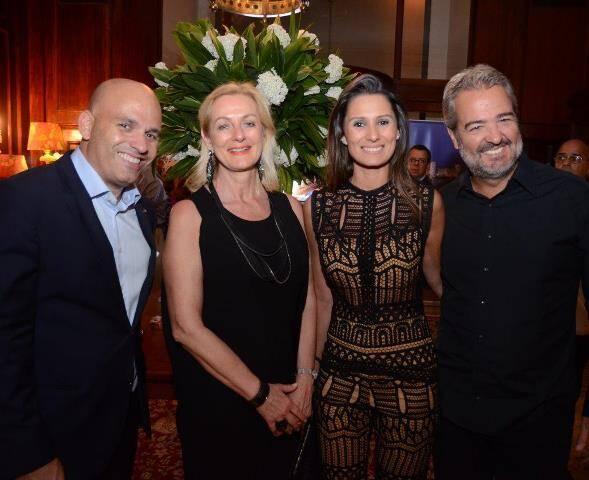 Erich Buschle, Eva Anzaloni, Camila Carvalho e Thomaz Naves