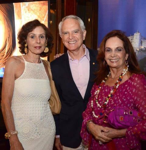 Fernanda Bruni com Ricardo e Sueli Stambowsky