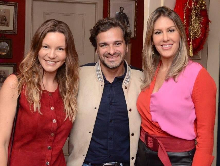 Alessandra Grozko, Sergio Felipe Coutinho e Eugênia Guima /Foto: Marco Rodrigues