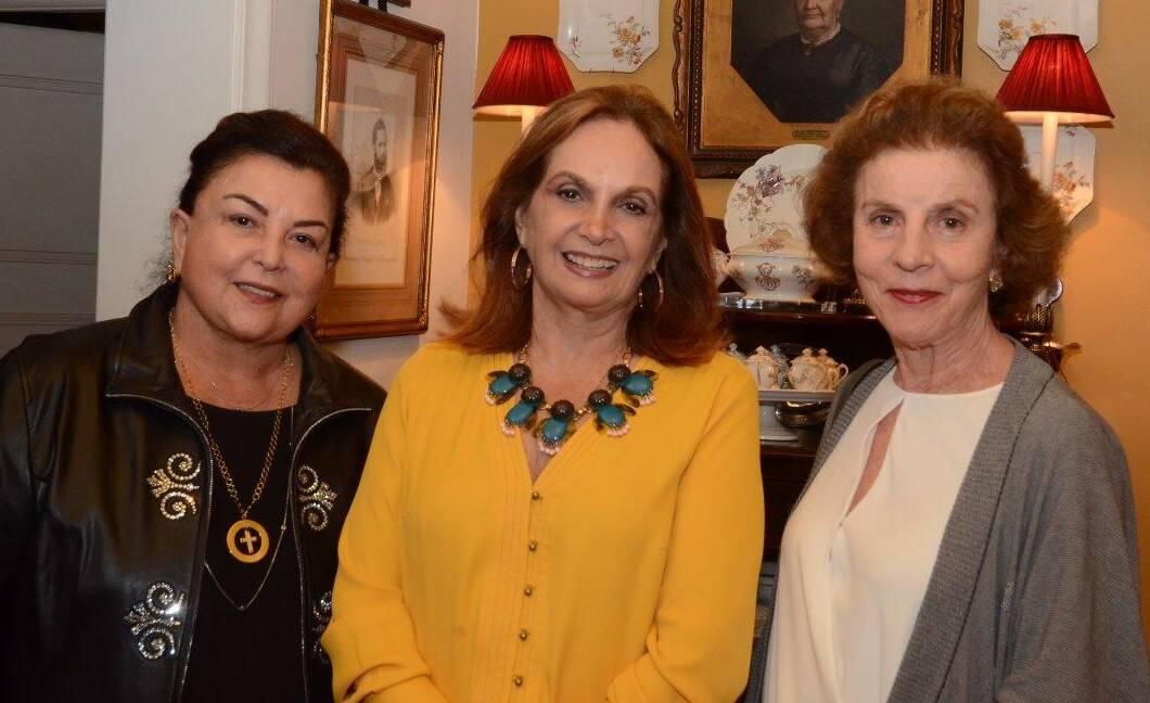 Maria Clara Tapajós, Sueli Stambowsky e Isabel Gouvêa Vieira /Foto: Marco Rodrigues