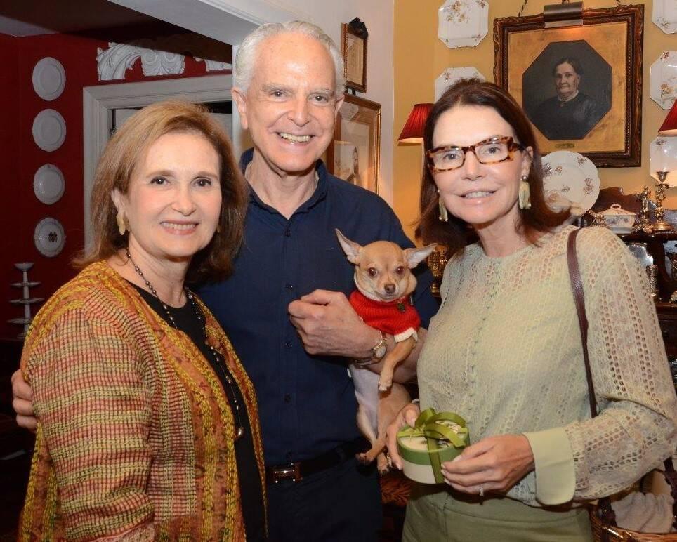 Alice Médici, Ricardo Stambowsky e Patricia Meyer /Foto: Marco Rodrigues