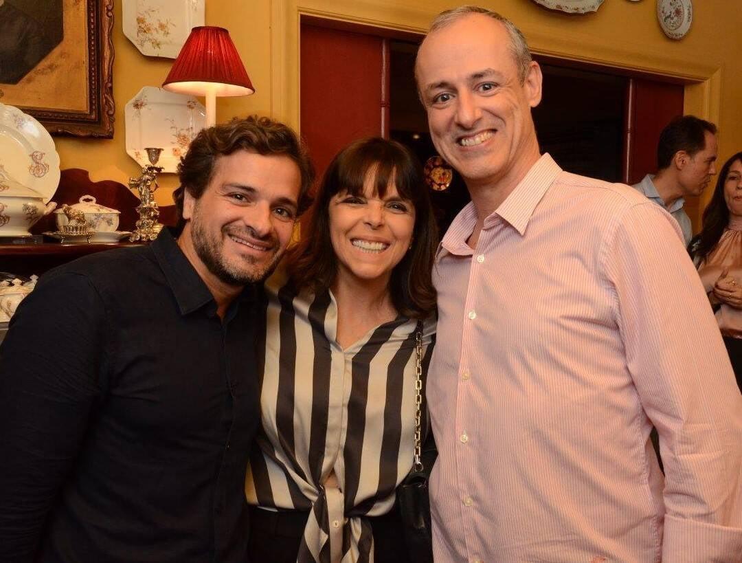Sergio Felipe Coutinho, Ecila Antunes e Marcos Mamede /Foto: Marco Rodrigues