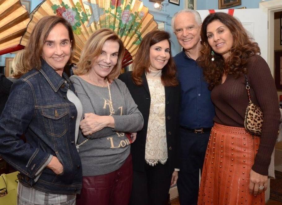 Bebel Niemeyer, Henriqueta Gomes, Fátima Tostes, Ricardo Stambowsky e Maria Pia Montenegro /Foto: Marco Rodrigues