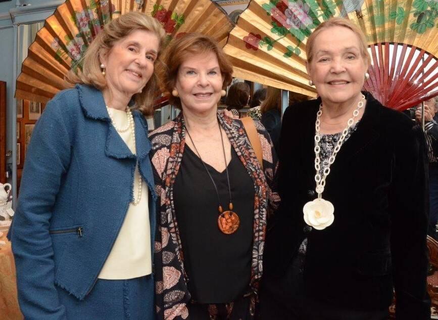 Guida Sève, Marly Garcia e Terezinha Pittigliani /Foto: Marco Rodrigues