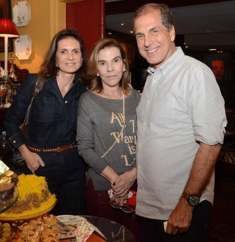 Henriqueta Gomes entre Paula e Luiz Carlos Nabuco /Foto: Marco Rodrigues