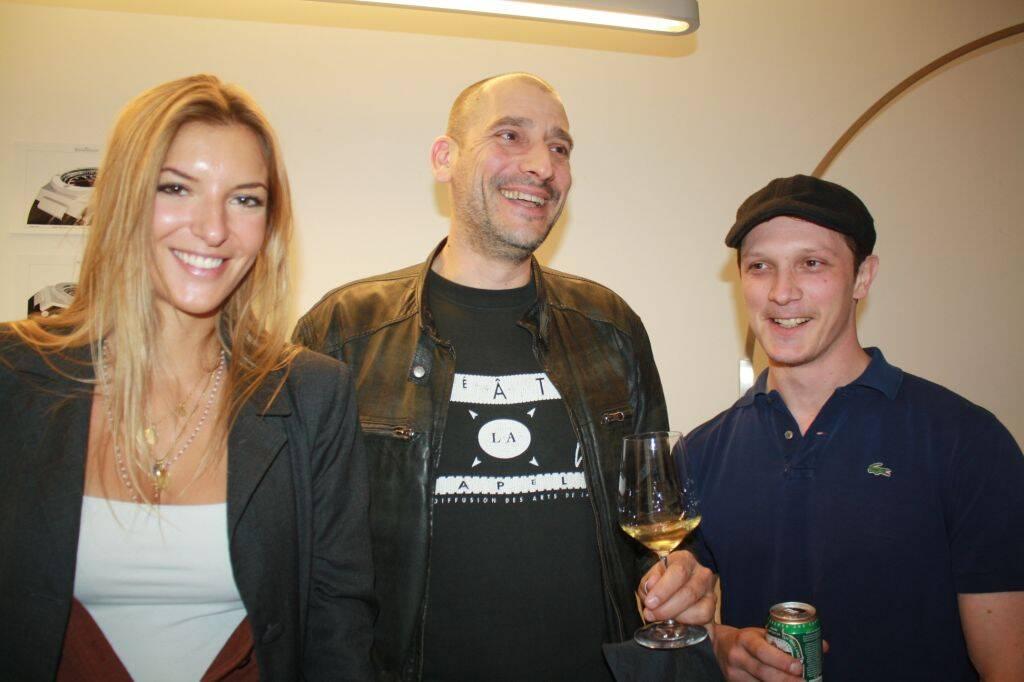 Anna Maga Visconti, Mauro Artusio e Nicolo Gagliassi