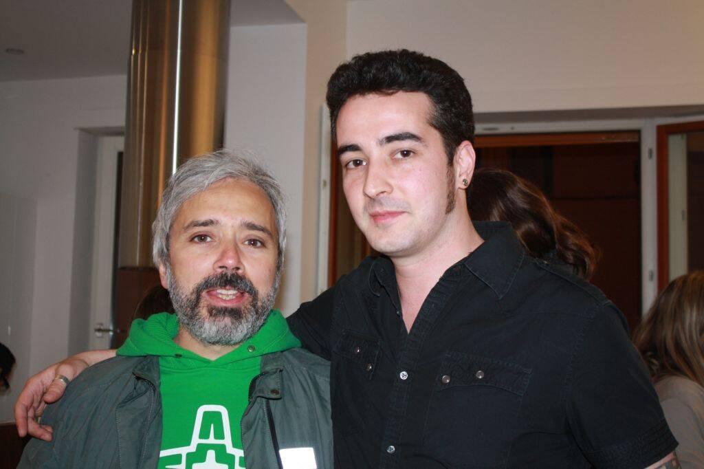 Fabrizio Ricopitto e Rafael Miranda