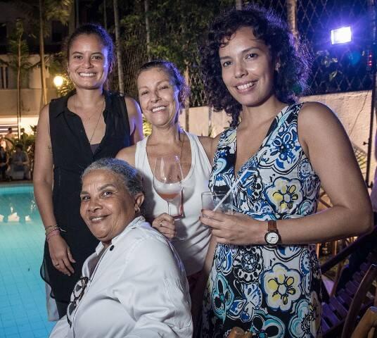Bárbara Gonçalves, Sophie Lesage, Mariana Gomes e Noêmia Ribeiro