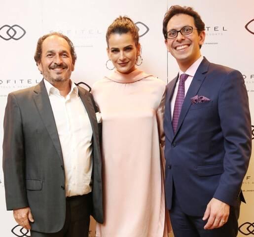 Phelippe Seigle, Fernanda Motta e Netto Moreira