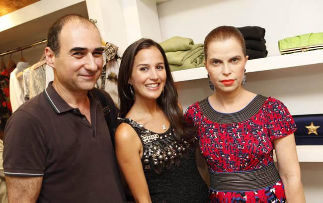 Amir Slama, Joana Nolasco e Marina Felfeli