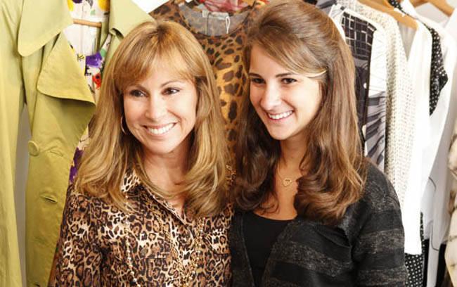 Andrea e Tatiana Rudge