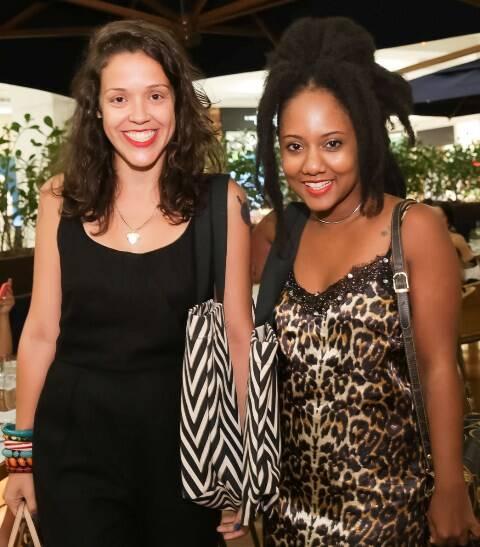Carol Delgado e Luiza Brasil