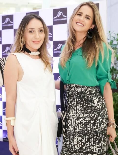 Erica Bouguignon e Laila Coelho