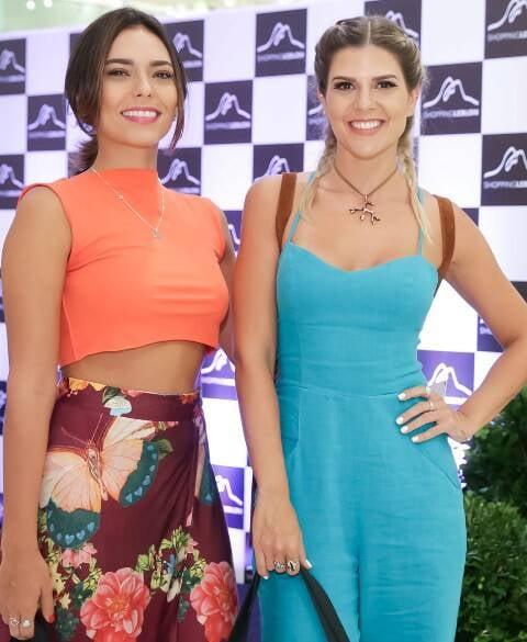 Fernanda Britto e Mariana Reis