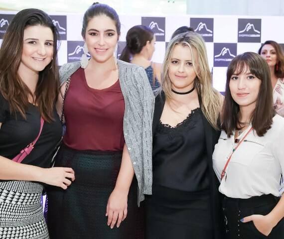 Joana Cannabrava, Gabriela Ganem, Thereza Chammas e Amanda Britto