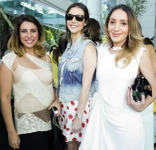Julia Morales, Roberta Graham e Erika Bourguinon