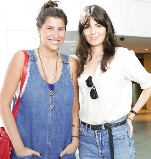 Lara D'Avila e Marina Franco