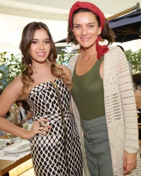 Layla da Fonseca e Melissa Jannuzzi