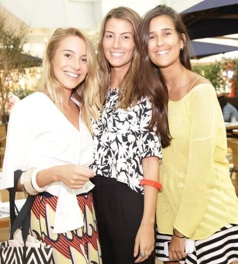 Maria Pellegrino, Luiza Aguiar e Paula Bandeira