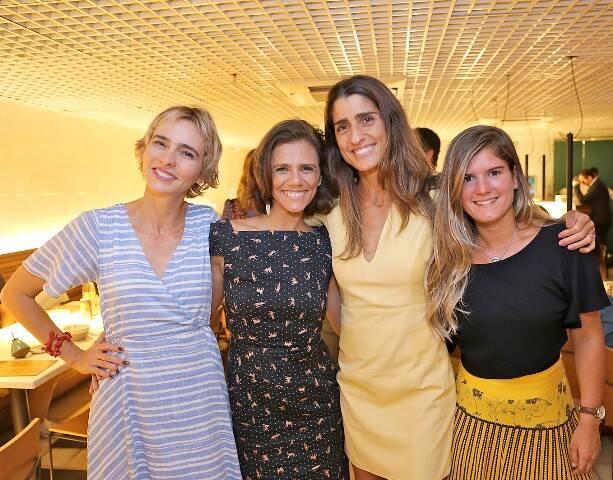Zazá Piereck, Anna Elisa de Castro, Cynthia Howlett e Tati Lund