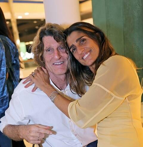Patrick Martin com a filha Cynthia Howlett