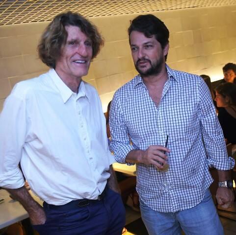Patrick Martin e Marcelo Serrado