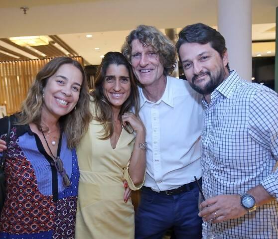 Mariana Lobo, Cynthia Howlett, Patrick Martin e Marcelo Serrado